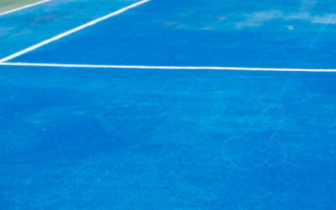 Rehabilitación pista de tenis Tordera