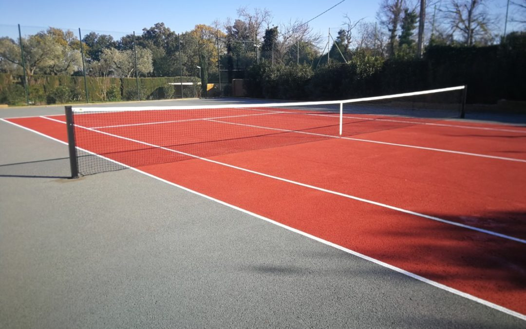 Color en pista de tenis, Empordà