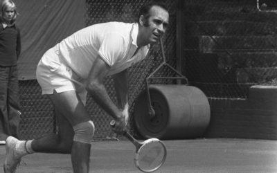 Nos despedimos de Andrés Gimeno: gran tenista e imagen de Reindesa